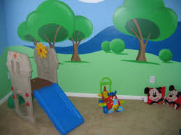 Mickey Mouse Bedroom Decorations Mickey Mouse Room Daccor To Make The Children Are Sleep Well Room