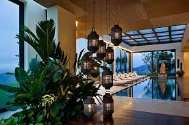 asian inspired lighting. View In Gallery Indoor Swimming Pool With Asian Style Lantern Lighting Inspired N