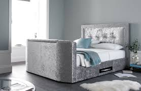 king size tv bed.  Bed The Bowburn King Size TV Bed For Tv