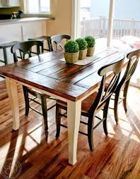 35 beautiful s wooden kitchen table picnic table design gallery
