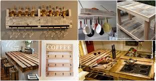 rustic wood furniture ideas. 10 Brilliantly Rustic DIY Pallet Kitchen Furniture Ideas Wood N