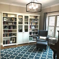 Living Room Bookcase Ikea Liatorp Bookcase Modern Office Study Pinterest