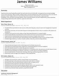 accounts receivable samples accounts Accounts Payable Supervisor Resume  receivable supervisor resume samples example account payable job
