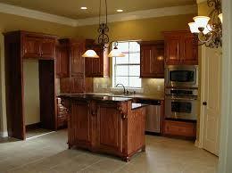 image of paint oak kitchen cabinets ideas porcelain floor
