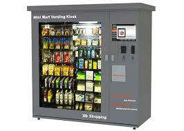 Kiosk Vending Machine Gorgeous Universal Vending Solutions Vending Kiosk Machine For Electronics