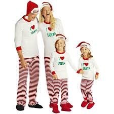 ZXZY - Children Adult Matching Family Pajamas Sets Christmas Sleepwear Outfit Walmart.com