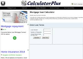Mortgage Loan Calculator Comprehensive Source Of Free Online