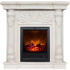polyfiber electric fireplace
