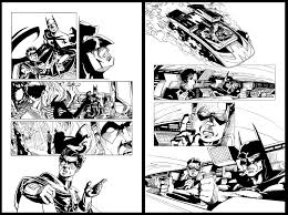 Comic Storyboards Jordi Valbuena Storyboard Artist BATMAN 15