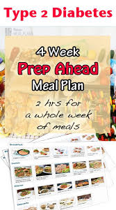 diabetes food menus 4 week prep ahead ready made meal plan make your low carb