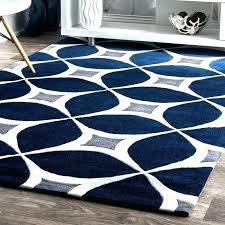 beautiful navy blue area rug 8 10