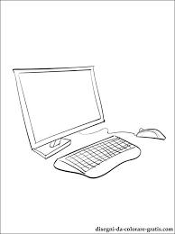 Disegno Di Computer Da Stampare Disegni Da Colorare Gratis