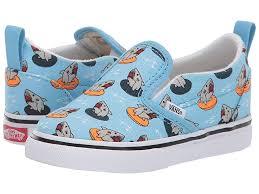 Vans Toddler Shoe Size Chart Vans Kids Slip On V Toddler Boys Shoes Floatie Sharks