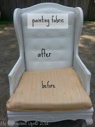 painting fabric furnitureGreat Painting Fabric Chairs with Painting Upholstered Furniture