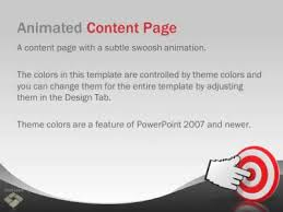 wave powerpoint templates simple wave a powerpoint template from presentermedia com