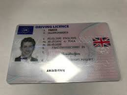 Iron Driving Old Sides – Uk Fake Licence