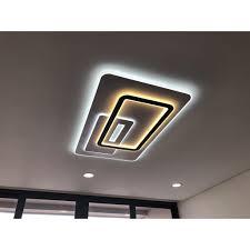 ĐÈN ốp trần , đèn led trang trí hình chữ nhật phòng khách 3 chế độ sáng bảo  hành 12 tháng
