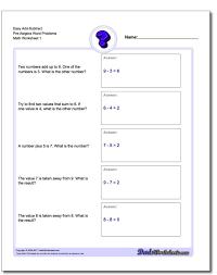 Math Worksheets Eighth Grade Algebra First Preschool Addition ...