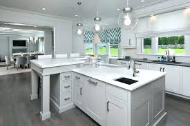l shaped kitchen counter l shaped kitchen counter gray kitchen island with statuary marble view full