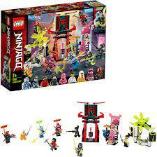 Lego 71708 NINJAGO Marktplatz, Minifiguren-Set mit Digi Jay, Avatar Pink  Zane und Avatar Harumi (inkl. 9 Minifiguren): Amazon.de: Spielzeug