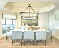 full size of size of linear chandelier for dining table what room modern rectangular island crystal