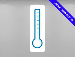 Custom Goal Thermometer Dry Erase Goal Thermometer