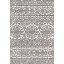 contemporary jeannie fl beige 5 ft x 8 ft area rug