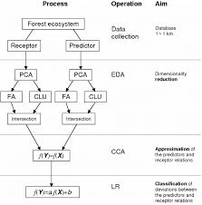 The Flow Chart Of The Ecosystem Statistical Analysis Based