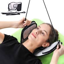 portable neck pain relief relaxing hammock massager foam napping sleeping pillow cushion for home office outdoor