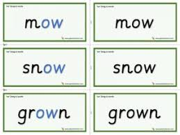 Worksheet for (very) young learners who have just started reading. Ow Long O Phonics Worksheets And Games Galactic Phonics
