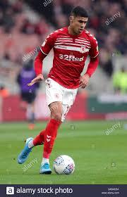 Middlesbrough's Ashley Fletcher during the Sky Bet Championship match at  Riverside Stadium, Middlesbrough Stock Photo - Alamy