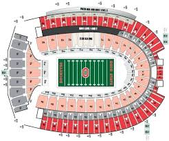 Osu Buckeye Stadium Seating Chart Ohio State Stadium Seating Chart Alonlaw Co