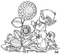 Sunflower Free Precious Moments Coloring Pages Coloring Pages