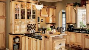 kitchen ideas using hickory cabinets | ... and images gallery ...