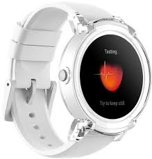 <b>Умные часы Ticwatch Express</b> (Wear OS by Google), белый ...