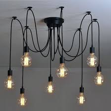 hanging light bulbs s ing bulb chandelier diy from cord ideas