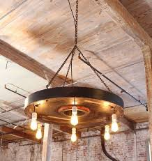 chandelier vintage industrial hanging