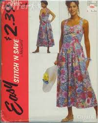 Sundress Patterns Gorgeous McCalls 448 Ladies Sundress EASY Sewing Pattern 448 48 48 For Sale