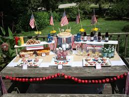 labor day theme backyard party ideas gac