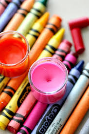 crayons are made mostly of paraffin found in most lipsticks or lip balms and non toxic food grade pigments making them perfect for mixing up a fun new