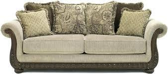 n6400703 genuine sofa with wood trim traditional sofas with wood trim traditional sofas with wood trim