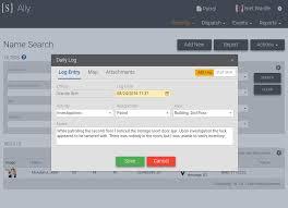Security Management Software Spillman Technologies