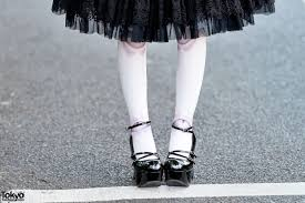 ball joint tights. ball joint tights \u0026 patent lolita shoes
