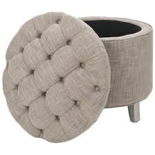 Cheap Footstools With Storage Furniture Luxury Round Tufted Ottoman For Home Furniture Ideas