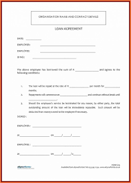 Personal Loan Agreementn Friends Sample Of Letter Or Family