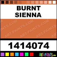 Kubota Paint Chart Burnt Sienna Oil Colour Oil Paints 1414074 Burnt Sienna