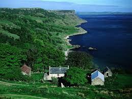 Benvane Farm Overlooking Murlough Bay ...