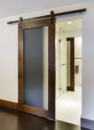 glass barn doors sliding door design