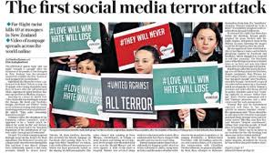 Social Papers - Say After Itv Terror The News Attack' 'first Media What