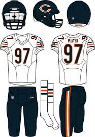 Chicago Bears Road Uniform - National Football League (NFL) - Chris ...